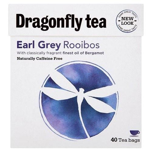 (2 Pack) – Dragonfly Tea – Earl Grey Rooibos Tea   40 Bag   2 PACK BUNDLE