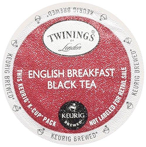 Twinings English Breakfast Tea Keurig K-Cups, 48 Count