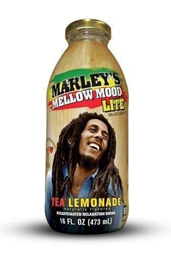 12 Pack of 16 Oz Marley's Mellow Mood Lite – Tea Lemonade