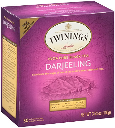 Twinings Tea Teabags, 50 Count (Pack of 6)