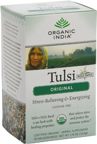 Organic India Tulsi, Original, 18-Count Boxes