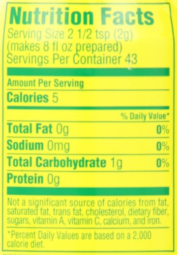 Lipton Iced Tea Mix, Diet Lemon 10 qt