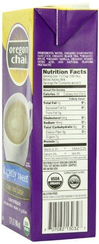 Chai Tea Latte Concentrate, 32-Ounce Boxes