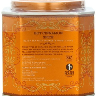 Harney & Sons Hot Cinnamon Spice 30ct 2.67 oz