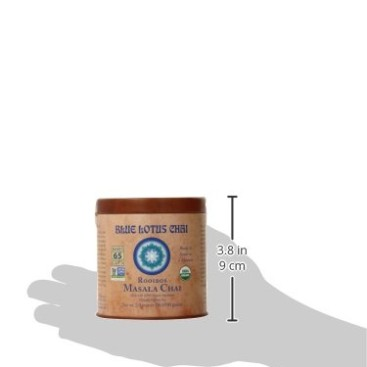 1 X Blue Lotus Rooibos Masala Chai – 2oz Tin (65 cups)
