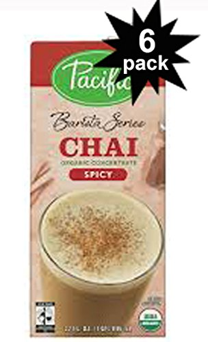 Barista Series Organic Spicy Chai Latte Concentrate 32oz. (6 Pack)