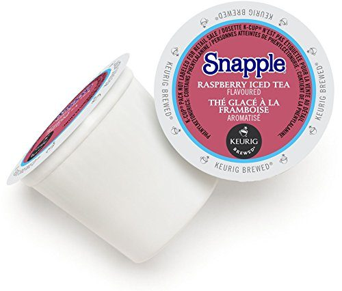 Snapple Raspberry Iced Tea, K-Cup Portion Pack for Keurig Brewers (22 Count)