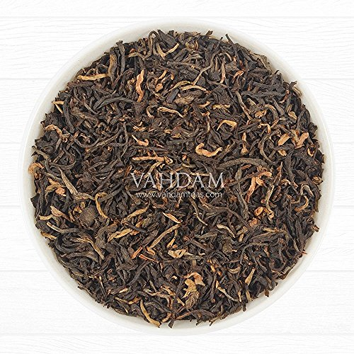 Exotic Assam Tea Leaves with Imperial Golden Tips, 2016 Harvest, Black Tea – Malty, Rich & Flavoury (50 Cups), Loose Leaf Tea Sourced Direct from Upper Assam Tea, Perfect English Breakfast Tea