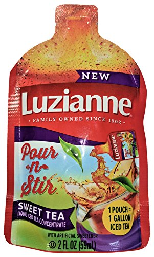 Luzianne Pour-n-Stir Tea, 6 Count (Pack of 6)