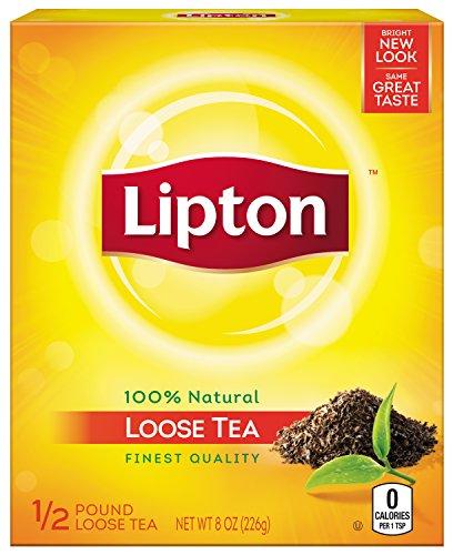Lipton Black Tea, Loose, 1/2 pound Box