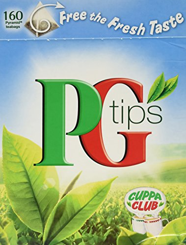 PG Tips 160 Tea Bags (17.6 oz)