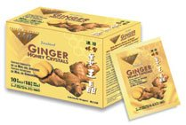 Instant Ginger Honey Crystals and Ginger Candy